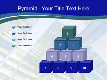 Windows of Skyscraper Business Office PowerPoint Templates - Slide 31