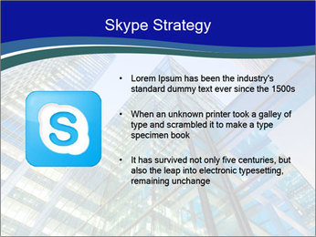 Windows of Skyscraper Business Office PowerPoint Templates - Slide 8