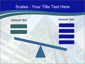 Windows of Skyscraper Business Office PowerPoint Templates - Slide 89
