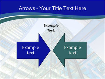 Windows of Skyscraper Business Office PowerPoint Templates - Slide 90