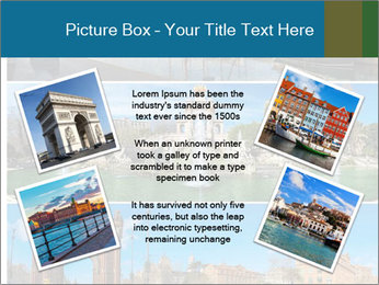 Set of three Barcelona PowerPoint Template - Slide 24