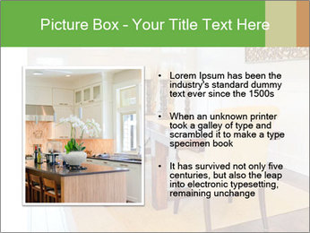 Dining Room in New Luxury Home PowerPoint Template - Slide 13