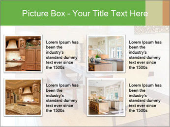 Dining Room in New Luxury Home PowerPoint Template - Slide 14