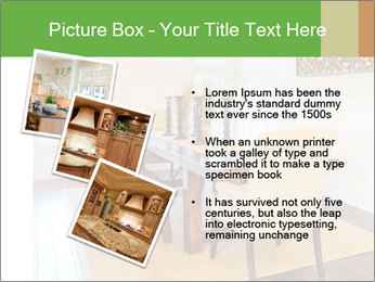 Dining Room in New Luxury Home PowerPoint Template - Slide 17