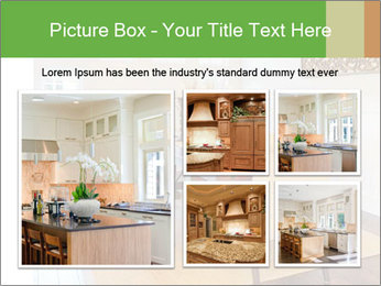 Dining Room in New Luxury Home PowerPoint Template - Slide 19