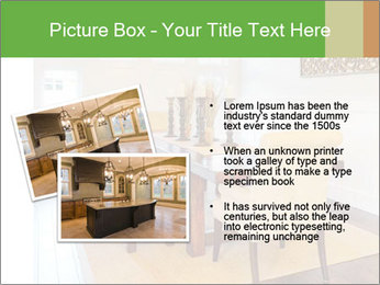 Dining Room in New Luxury Home PowerPoint Templates - Slide 20