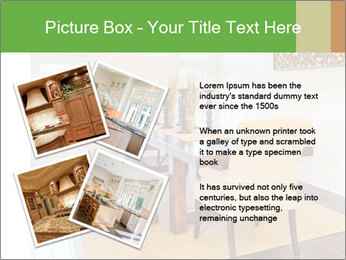 Dining Room in New Luxury Home PowerPoint Template - Slide 23