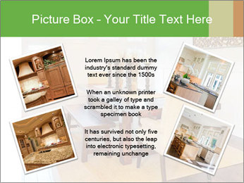 Dining Room in New Luxury Home PowerPoint Template - Slide 24