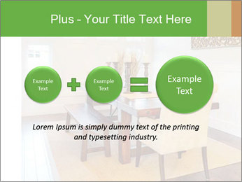 Dining Room in New Luxury Home PowerPoint Template - Slide 75