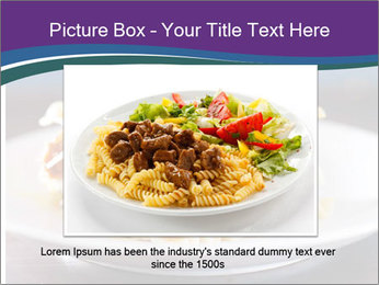 Lasagna with basil and ricotta cheese PowerPoint Templates - Slide 15