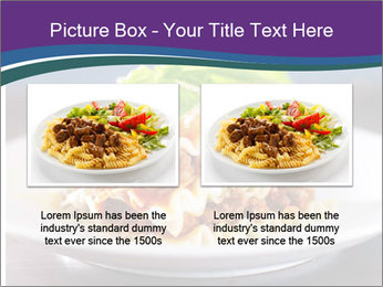 Lasagna with basil and ricotta cheese PowerPoint Templates - Slide 18