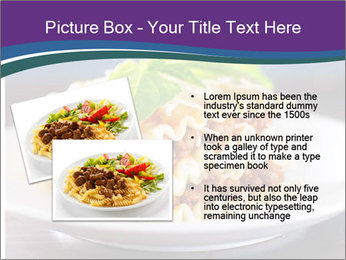 Lasagna with basil and ricotta cheese PowerPoint Templates - Slide 20