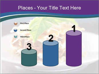 Lasagna with basil and ricotta cheese PowerPoint Templates - Slide 65