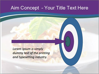 Lasagna with basil and ricotta cheese PowerPoint Templates - Slide 83