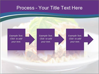 Lasagna with basil and ricotta cheese PowerPoint Templates - Slide 88