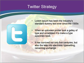 Lasagna with basil and ricotta cheese PowerPoint Templates - Slide 9