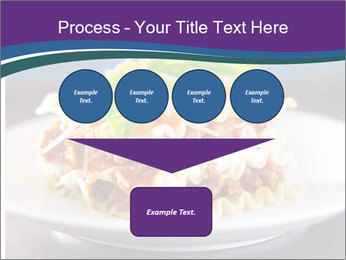 Lasagna with basil and ricotta cheese PowerPoint Templates - Slide 93