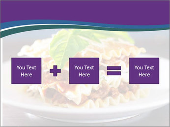 Lasagna with basil and ricotta cheese PowerPoint Templates - Slide 95