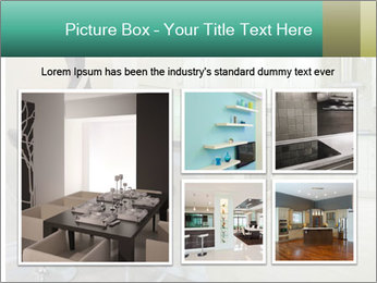 Interior design of modern kitchen PowerPoint Templates - Slide 19