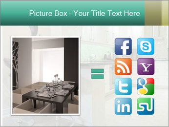 Interior design of modern kitchen PowerPoint Templates - Slide 21