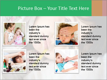Portrait of a little girl PowerPoint Template - Slide 14