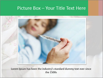 Portrait of a little girl PowerPoint Template - Slide 16