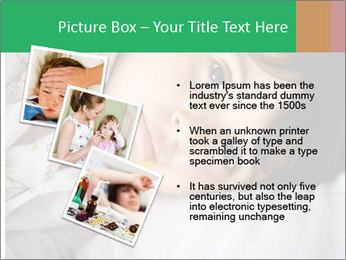 Portrait of a little girl PowerPoint Template - Slide 17