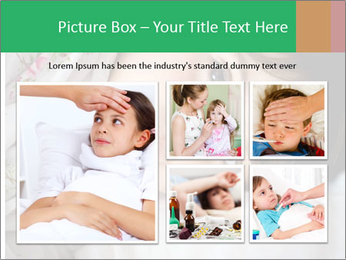 Portrait of a little girl PowerPoint Templates - Slide 19