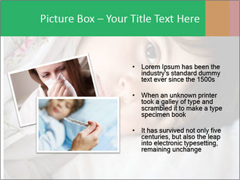 Portrait of a little girl PowerPoint Template - Slide 20