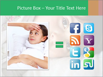 Portrait of a little girl PowerPoint Template - Slide 21