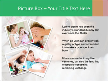 Portrait of a little girl PowerPoint Template - Slide 23