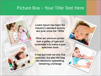 Portrait of a little girl PowerPoint Templates - Slide 24