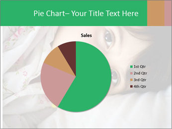 Portrait of a little girl PowerPoint Template - Slide 36