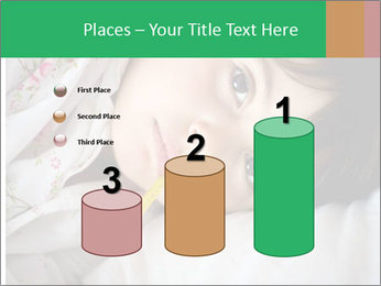 Portrait of a little girl PowerPoint Templates - Slide 65