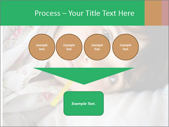 Portrait of a little girl PowerPoint Template - Slide 93