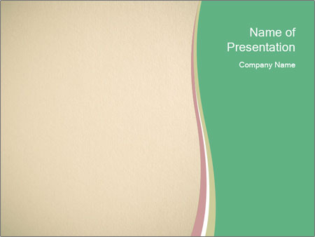 Beige background PowerPoint Template