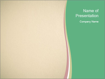 Beige background PowerPoint Template - Slide 1