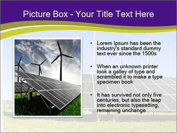 Solar panels PowerPoint Template - Slide 13