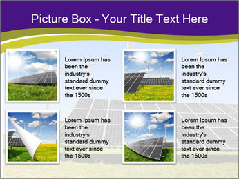 Solar panels PowerPoint Template - Slide 14