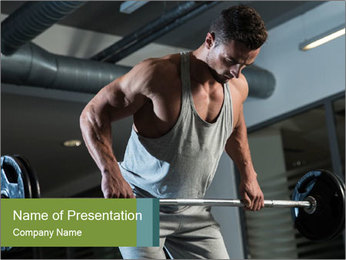 Pain and Gain PowerPoint Template - Slide 1