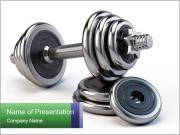 Dumbbell PowerPoint Templates