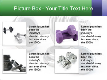 Dumbbell PowerPoint Template - Slide 14