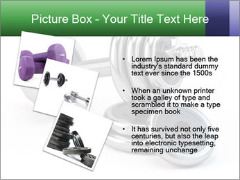 Dumbbell PowerPoint Template - Slide 17