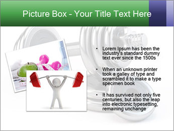 Dumbbell PowerPoint Template - Slide 20