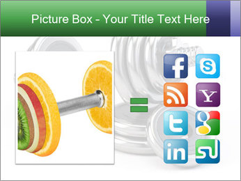 Dumbbell PowerPoint Template - Slide 21