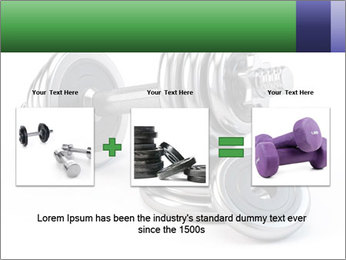 Dumbbell PowerPoint Template - Slide 22