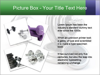 Dumbbell PowerPoint Template - Slide 23