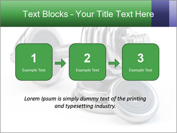 Dumbbell PowerPoint Template - Slide 71