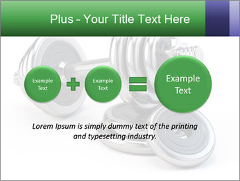 Dumbbell PowerPoint Template - Slide 75