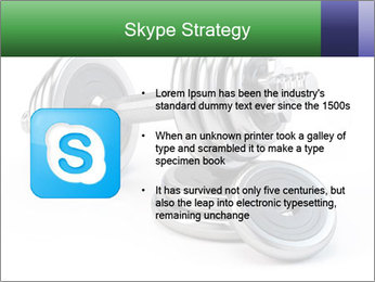 Dumbbell PowerPoint Template - Slide 8